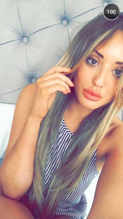 Charlotte Crosby Snapchat @clc_17