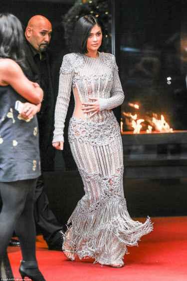 Kylie Jenner at Met Gala 2016 Red Carpet