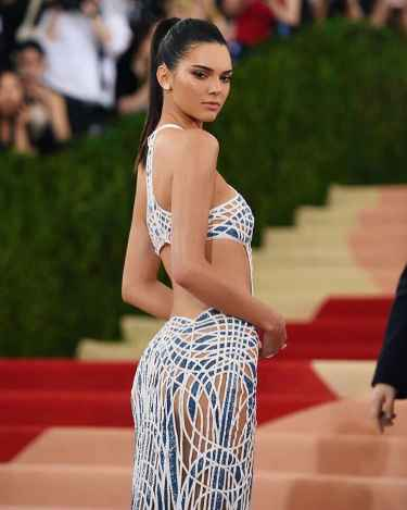 Kendall Jenner at Met Gala 2016 Red Carpet