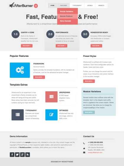 Free #Joomla Templates available at JoomlaHacks