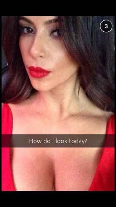 Kim Kardashian is now on Snapchat!
