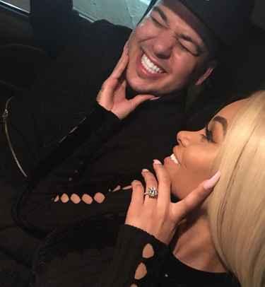 "Blac Chyna Said ""Yes"" To Rob Kardashian!"