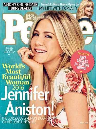 Jennifer Aniston named 'World's Most Beautiful Woman' by People Magazine