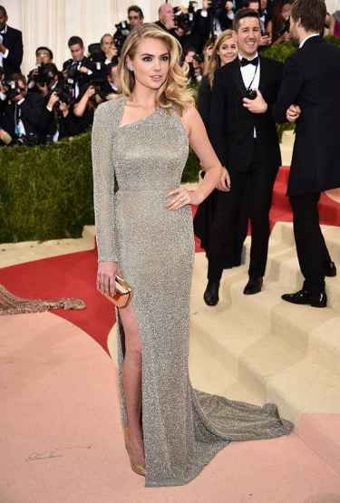 Kate Upton at Met Gala 2016 Red Carpet