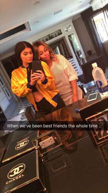Kylie Jenner and Blac Chyna has been best friends the whole time