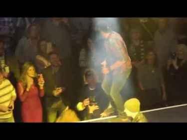 Luke Bryan punched a heckler during live performance at Charlie Daniels Volunteer Jam
