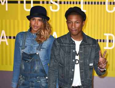 It's triplets for Pharrell Williams and his wife Helen Lasichanh