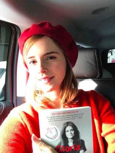 Emma Watson shares a photo tweet in support of #InternationalWomensDay ❤️