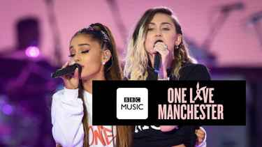 One Love Manchester: Miley Cyrus and Ariana Grande sings Don't Dream It's Over