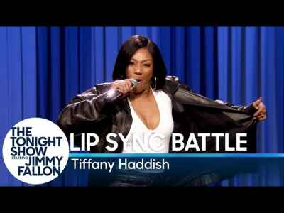 Tiffany Haddish Killed James Brown's Sex Machine in #LipSyncBattle at Jimmy Fallon Show