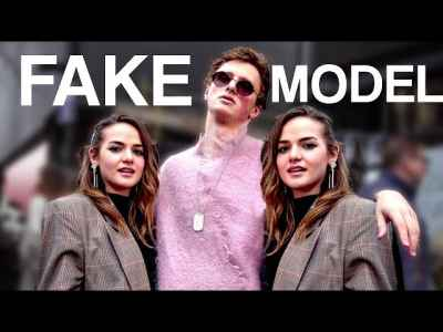 These guys created a fake a male model and made it to the top of London fashion week. 🤣 #BestOfYouTube #LondonFashionWeek