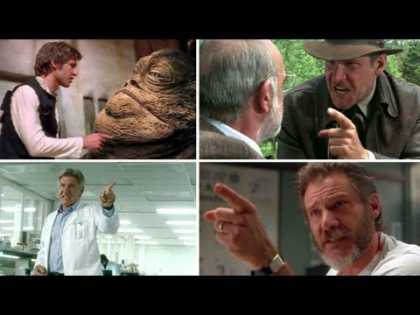 #Celeb: Harrison Ford Points At Stuff A Lot In Acting | #Funny