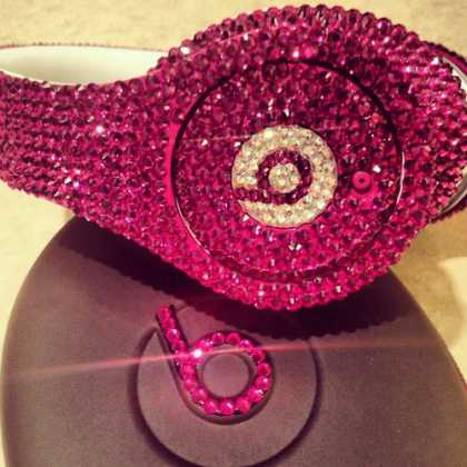 Pink #Beats by Dre