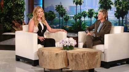 Amy Schumer Was So Hilarious At The Ellen Show