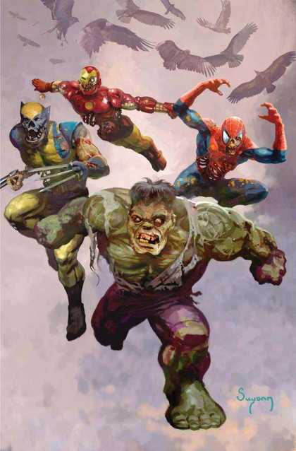 The #Marvel Zombies