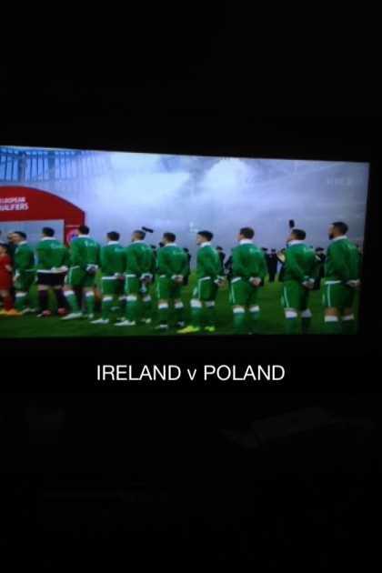 Time for the match, Let's go IRELAND 🍀 #Ireland v #Poland 💪 #BoysInGreen