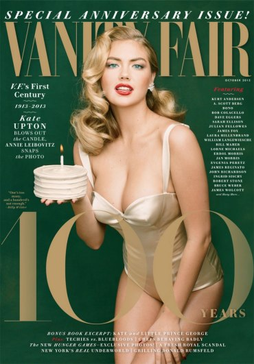 #Celeb: Vanity Fair's 100th Anniversary Issue Features Cover Model Kate Upton