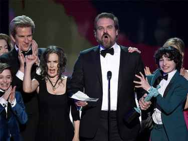 Stranger Thing's David Harbour gave a phenomenal speech at the SAG Awards 2017