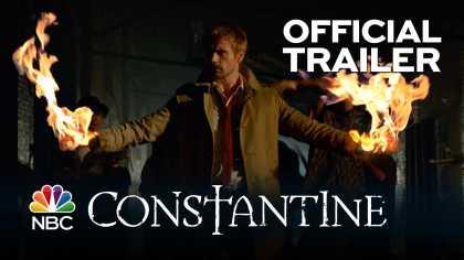 #Constantine Official Trailer: A New NBC TV Show