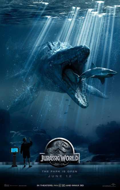 New Jurassic World (2015) Poster