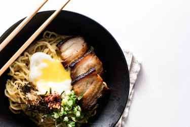 Bacon and Egg Breakfast Ramen