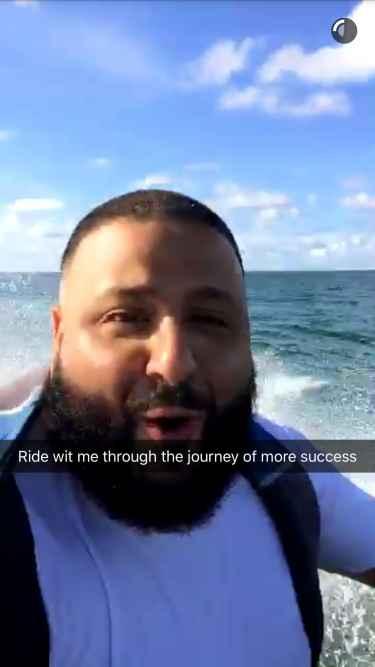DJ Khaled Snapchat Username @DJKhaled305
