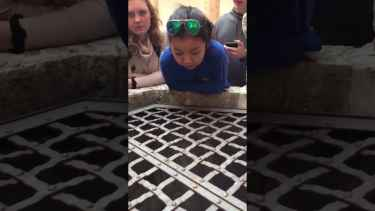 This girl sings 'Hallelujah' into a well, you wouldn't believe it's her voice! 🙏