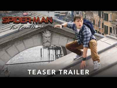 SPIDER-MAN: FAR FROM HOME - Official Teaser Trailer. #SpiderMan