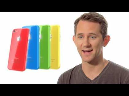 Introducing the new #Apple #iPhone 5S and 5c [Parody]