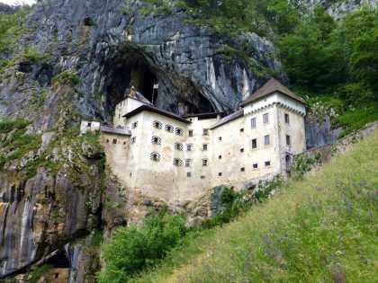 Predjama Castle in Slovenia #iwannagohere