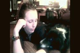 I do the licking.. not you! #funny #gif