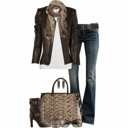 Perfect #fall city ensemble | #jacket #jeans
