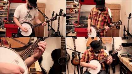 "This guy's banjo cover of Metallica's ""Enter Sandman"" is epic!"