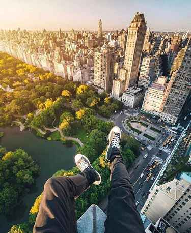 Amazing view of Central Park in #NYC