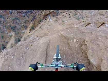 #Extreme #MountainBiking GoPro: Backflip Over 72ft Canyon by Kelly McGarry Red Bull Rampage 2013