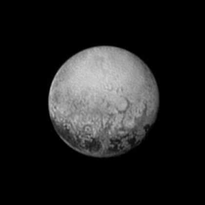 New Horizons' Last Portrait of Pluto's Puzzling Spots