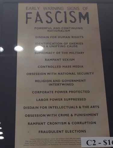 Holocaust Museum: 'Early Warning Signs of Fascism'