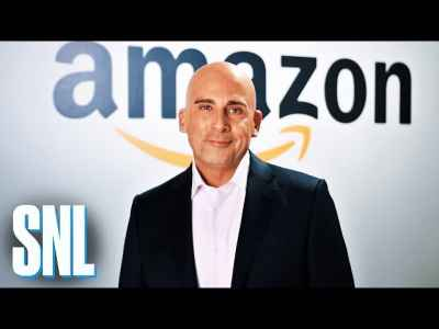 #SNL: Jeff Bezos (Steve Carell) Delivers a Sick Burn to President #Trump