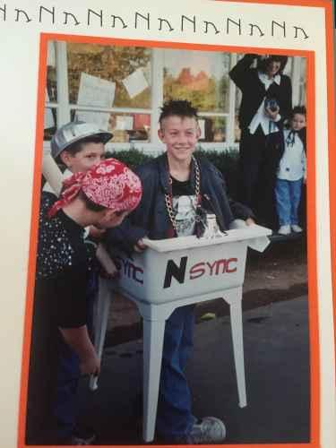 NSYNC Halloween Costume.... Bye bye bye!