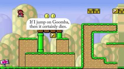 Mario Is Self-Aware! Watch Mario Responds To Voice Commands