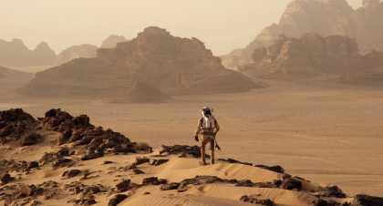 'The Martian' Official Trailer