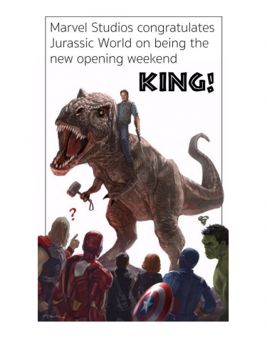 Marvel Studios Congratulates Jurassic World on Being the New King of Opening Weekend