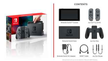 "Nintendo of America on Twitter: ""#NintendoSwitch arrives on March 3. Here's what's in the box"""