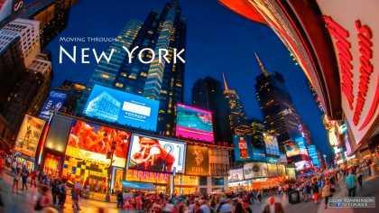 Moving Through New York   #NYC