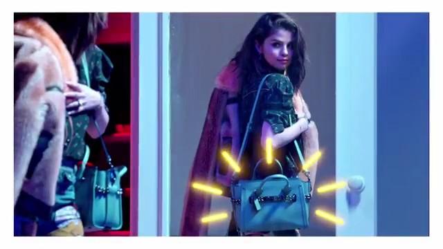 Selena Gomez Stars in Coach Swagger Campaign