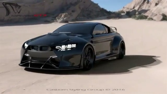Mamba GT3 Street Concept 3D Animation