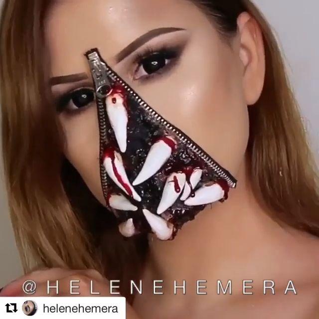 The Best #Halloween Makeups of 2018