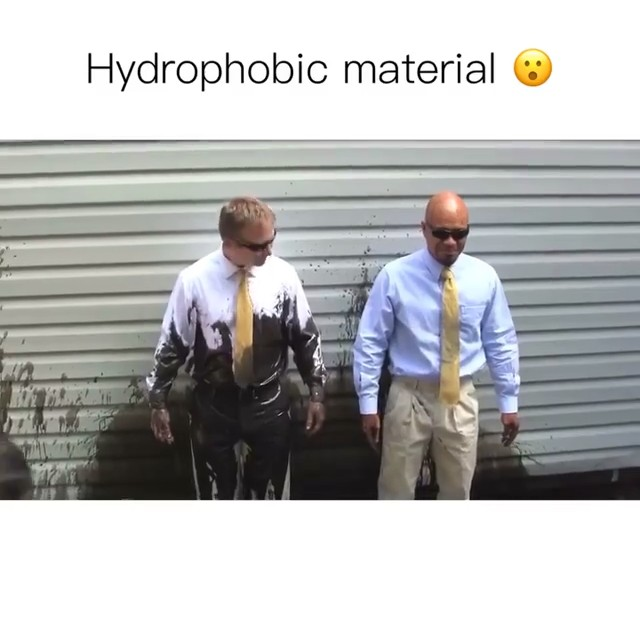 VIDEO: What is a hydrophobic material?